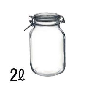 ボルミオリロッコ(Bormioli Rocco) ガラス製フィドジャー 2L|get-square