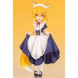 TVアニメ「世話やきキツネの仙狐さん」より「仙狐さん」がメイド服姿で登場! 狐耳と尻尾が魅力的な「仙...