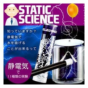 忘年会 景品 静電気で11種類の実験 スタティックサイエンス