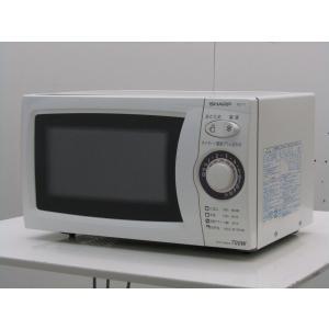 中古 シャープ 単機能 電子レンジ RE-T1-W5 東日本用50Hz地域専用 20Lホワイト 2010年製|getman