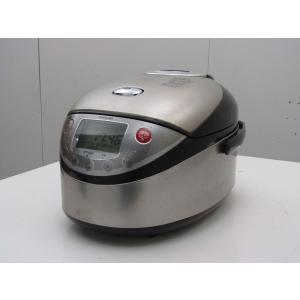 中古 東芝 5.5合炊き IH炊飯器 真空炊き RC-10VXA プレミアムシルバー 2007年製 getman