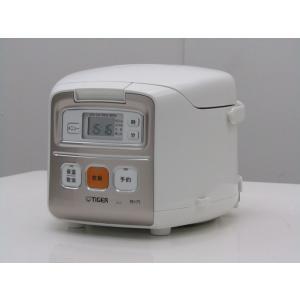 中古 タイガー 3合炊き マイコン炊飯器 炊きたてミニ JAI-R550 ホワイト 2015年製 getman