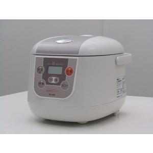 中古  シーシーピー 3.5合炊き マイコン炊飯器 BONABONA BK-R60 ホワイト 2016年製 getman