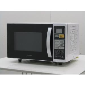 中古 アイリスオーヤマ 電子オーブンレンジ EMO6013 16L ホワイト系 2017年製|getman