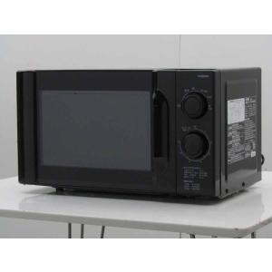 中古 ツインバード TWINBIRD 単機能電子レンジ DR-KD17 東日本・50Hz専用モデル 17L ブラック 2012年製|getman