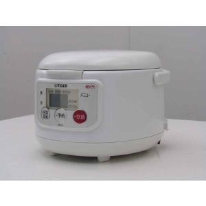 中古 タイガー 3合炊き マイコン炊飯ジャー JAU-G 炊きたて JAU-G550 アーバンホワイト 2008年製 getman