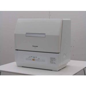 中古 パナソニック 食器洗い乾燥機 プチ食洗 NP-TCR1-W ホワイト 2013年製|getman