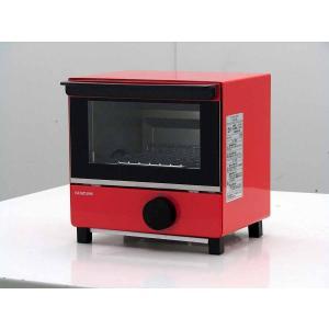 トースター コイズミ オーブントースター KOS-07BK レッド 2016年製|getman