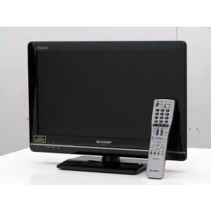 中古 液晶テレビ シャープ 19V型 ハイビジョン 液晶テレビ AQUOS LC-19K7 ブラック 2012年製 録画機能付き|getman