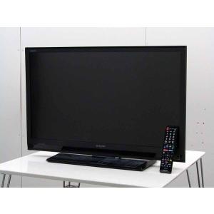 中古 液晶テレビ シャープ 32V型 ハイビジョン 液晶テレビ アクオス LC-32H9 ブラック 2013年製 録画機能付き|getman
