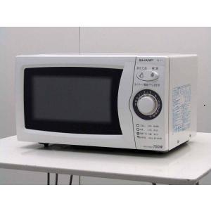 中古 電子レンジ  シャープ 単機能 電子レンジ RE-T1-W5 東日本用50Hz専用 20L ホワイト 2011年製|getman