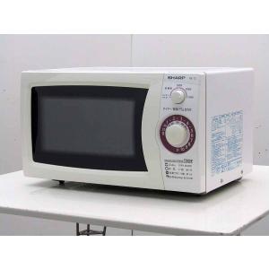 電子レンジ シャープ 20L 単機能電子レンジ RE-T2-W5 ホワイト 50Hz 東日本専用 ターンテーブル|getman