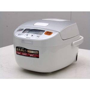 【中古 炊飯器】象印 3合炊き マイコン炊飯器 極め炊き NL-BA05-WA ホワイト 2016年製|getman