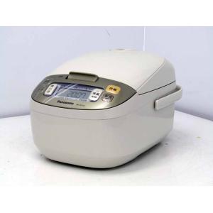 IH炊飯器 パナソニック 5.5合炊き 蓄熱ダイヤモンド釜 SR-HD101 ベージュ 2011年製|getman