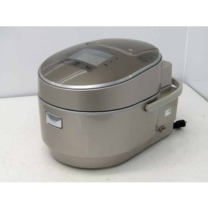 IH炊飯器 日立  圧力スチームIH炊飯ジャー RZ-VW3000M 5.5合炊き  打込鉄釜 ふっくら御膳 シャンパン 2016年製|getman