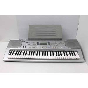 中古 カシオ ベーシックキーボード 61鍵盤 CTK-800 シルバー