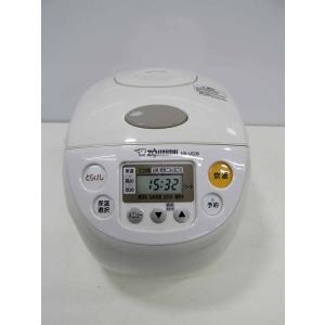 炊飯器 象印 極め炊き 3合炊き マイコンジャー炊飯器 NS-UC05 ホワイト 2013年製|getman
