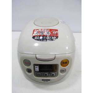中古 炊飯器 象印 5.5合炊き マイコン炊飯器 極め炊き NS-WB10-CA ベージュ 2012年製|getman