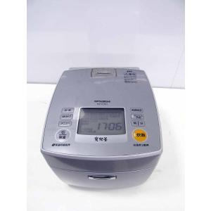 炊飯器 三菱 炭炊釜 5.5合炊き IH炊飯器 NJ-VV101-S プラチナシルバー 2010年製|getman