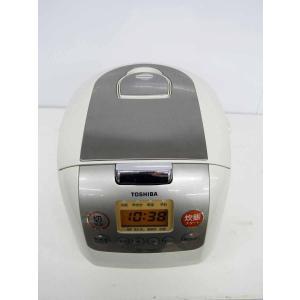 中古 マイコン炊飯器 東芝 マイコン炊飯器 5.5合炊き RC-10MSD ライトベージュ 2014年製|getman