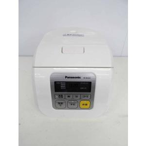 炊飯器 パナソニック 3合炊き マイコン炊飯器 SR-ML051-W ホワイト 2015年製|getman