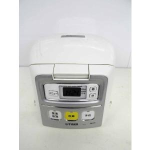 マイコン炊飯器 タイガー マイコン炊飯器 3合炊き 炊きたてミニ JAI-H550 ホワイト 2012年製|getman