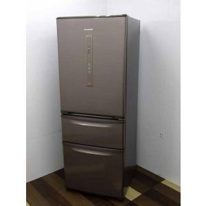 ●商品名:パナソニック 冷凍冷蔵庫 エコナビ NR-C32EML-N 315L 3ドア シルキーブラ...