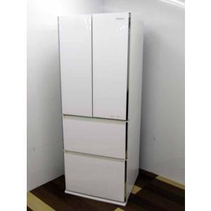 冷蔵庫 パナソニック 冷凍冷蔵庫 4ドア 506L ハーベストホワイト  2015年製