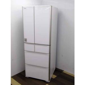 冷蔵庫 日立 R-XG5100H(XW) 6ドア 505L  自動製氷 真ん中冷凍 クリスタルホワイ...