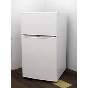 冷蔵庫 ハイアール JR-N85C 85L 2ドア ホワイト 2019年製  限定特価
