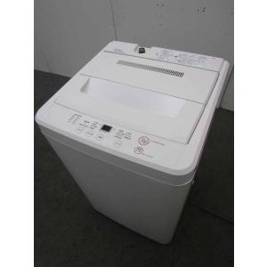 中古 無印良品 全自動洗濯機 AQW-MJ45 4.5kg ...