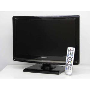 送料無料 中古 液晶テレビ 三菱 REAL 22V型 ハイビジョン 液晶テレビ  LCD-22MX45 ブラック 2010年製|getman
