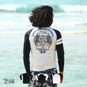 ラッシュガード メンズ 長袖 Tシャツ UVカット 日焼け防止 ns-2023