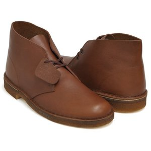 Clarks DESERT BOOT 【クラークス デザートブーツ】 BROWN VINTAGE LEATHER WIDTH:F (NARROW)|gettry