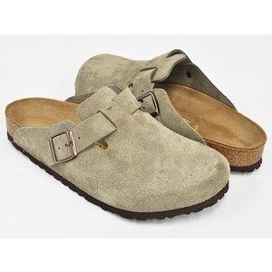 BIRKENSTOCK Boston 【ビルケンシュトック ボストン】 TAUPE / SUEDE|gettry