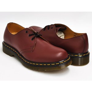 Dr.Martens 1461 3EYE GIBSON SHOE 【ドクターマーチン 3 アイ ホール ギブソン シューズ】 CHERRY RED SMOOTH|gettry