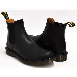 Dr.Martens 2976 CHELSEA BOOT 【ドクターマーチン チェルシー ブーツ サイドゴア】 BLACK SMOOTH|gettry