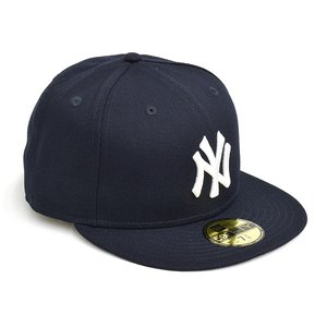 NEW ERA NEW YORK YANKEES WOOL 59FIFTY FITTED CAP 【ニューエラ ニューヨーク・ヤンキース ウール 5950 フィッテド キャップ】 NAVY / GRAY UNDERVISOR|gettry