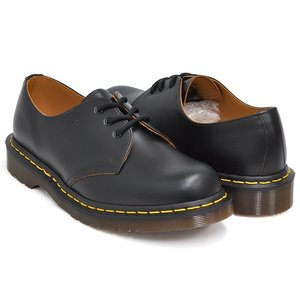 Dr.Martens VINTAGE 1461 3EYE GIBSON SHOE 【ドクターマーチン ヴィンテージ 3 アイ ホール ギブソン シューズ】  BLACK QUILON|gettry