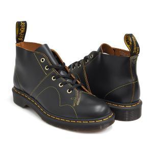 Dr.Martens CHURCH MONKEY BOOT 【ドクターマーチン チャーチ モンキー ブーツ】 BLACK VINTAGE SMOOTH|gettry