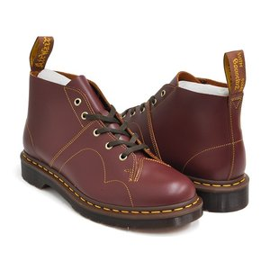 Dr.Martens CHURCH MONKEY BOOT 【ドクターマーチン チャーチ モンキー ブーツ】  OXBLOOD VINTAGE SMOOTH|gettry