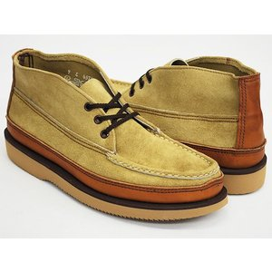 RUSSELL MOCCASIN SPORTING CLAYS CHUKKA 〔ラッセルモカシン スポーティング クレイ チャッカ〕 SAND / LT.BROWN / TAN (WIDTH E)|gettry