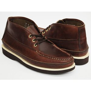 RUSSELL MOCCASIN SPORTING CLAYS CHUKKA 〔ラッセルモカシン スポーティング クレイ チャッカ〕 BROWN / BROWN / BROWN (WIDTH E)|gettry