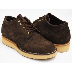 HATHORN by WHITE'S BOOTS OXFORD RAINIER 〔ハソーン ホワイツ・ブーツ レーニア〕 BROWN ROUGH OUT (WIDTH:E)|gettry