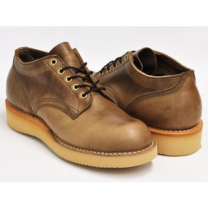HATHORN by WHITE'S BOOTS OXFORD RAINIER 【ハソーン ホワイツ・ブーツ レーニア】 NATURAL CHROME EXCEL LEATHER (WIDTH:E)|gettry