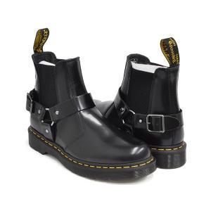 Dr.Martens WINCOX CHELSEA BOOT 【ドクターマーチン ウィンコックス チェルシー ブーツ サイドゴア】  BLACK POLISHED SMOOTH|gettry