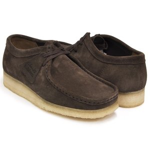 Clarks WALLABEE 【クラークス ワラビー ダークブラウン スウェード】 DARK BROWN SUEDE|gettry