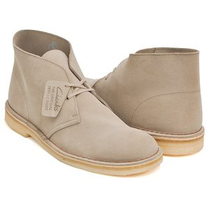 Clarks DESERT BOOT 【クラークス デザートブーツ】 SAND SUEDE WIDTH:G|gettry