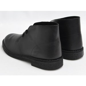 Clarks DESERT BOOT 【クラークス デザート ブーツ】 BLACK POLISHED (WIDTH:G)|gettry|02