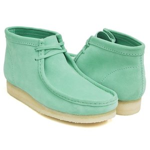 Clarks WALLABEE BOOT 【クラークス ワラビー ブーツ】  SPEARMINT SUEDE (WIDTH:G)|gettry